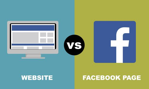 WEBSITE VS. FACEBOOK – WHICH ONE?